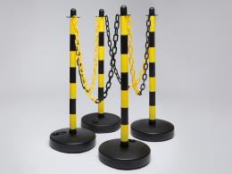 Yellow & Black Water Base Plastic Chain Post