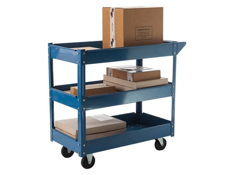 3 Shelf Workshop Trolley