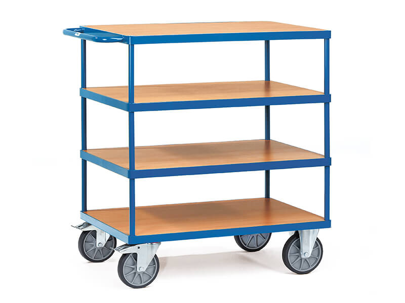 Heavy Duty 4 Shelf Carts
