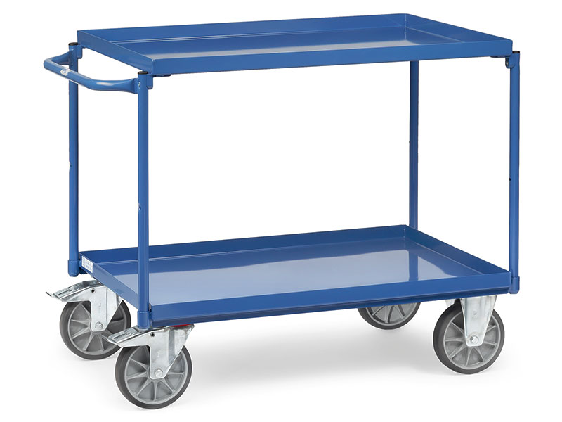 2 Trays Workshop Trolley