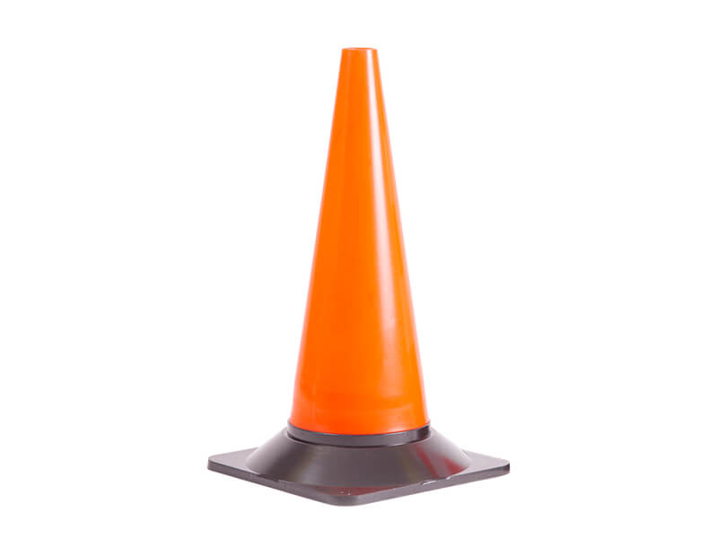 500mm Lightweight Cone Plain Red