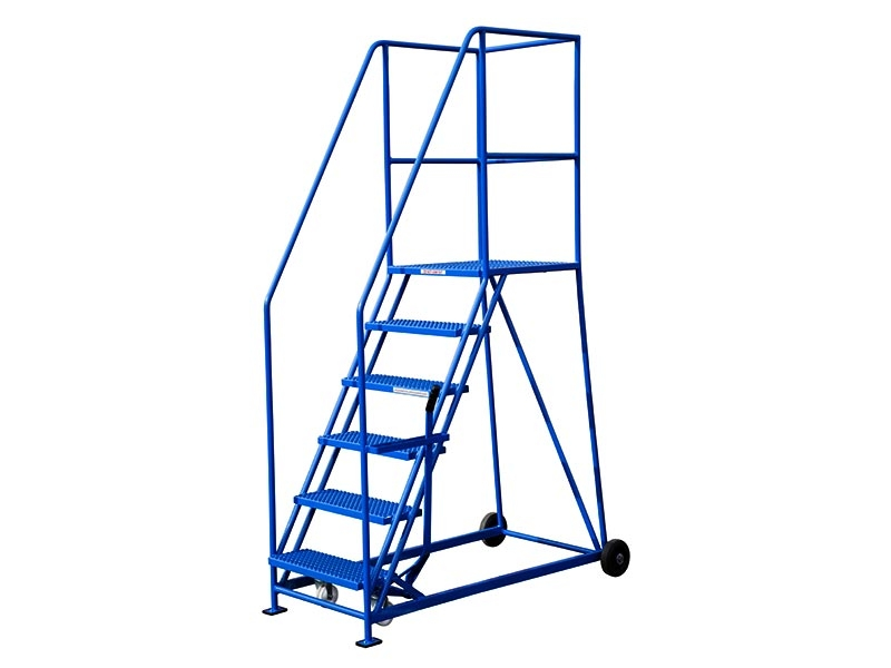 6 Tread 1372mm High Safety Steps