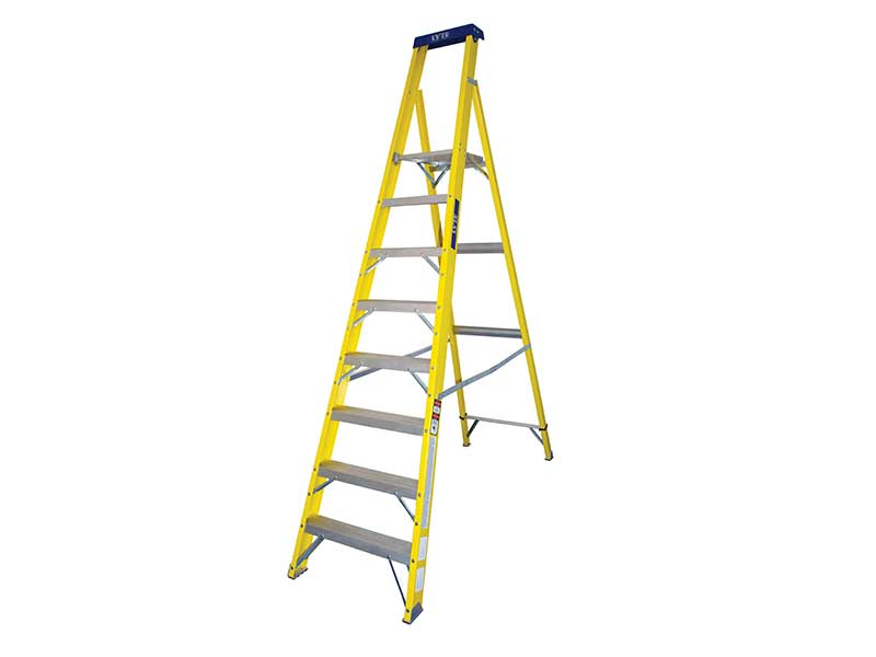 8 Tread Platform Step Ladders
