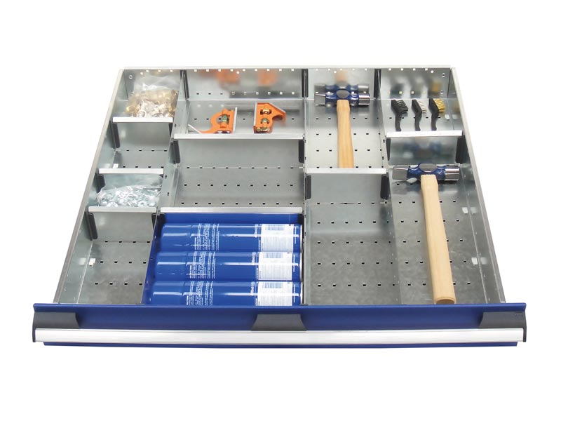 800mm Wide 11 Compartments, Metal