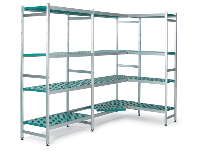 Aluminium Kitchen Shelves
