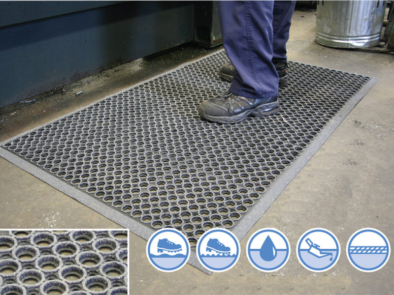 High-Duty Grit Mat