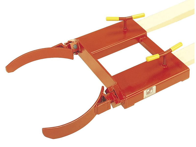 Drum Clamps Fork Lift Attachment