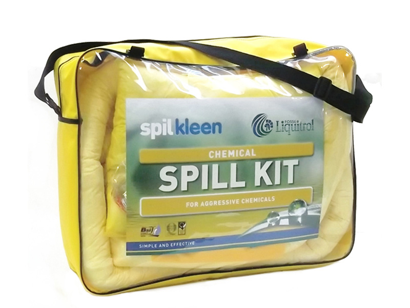 Buy 50 Litre Chemical Spill Kit Free Delivery