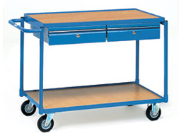 Table Top Cart With Drawers