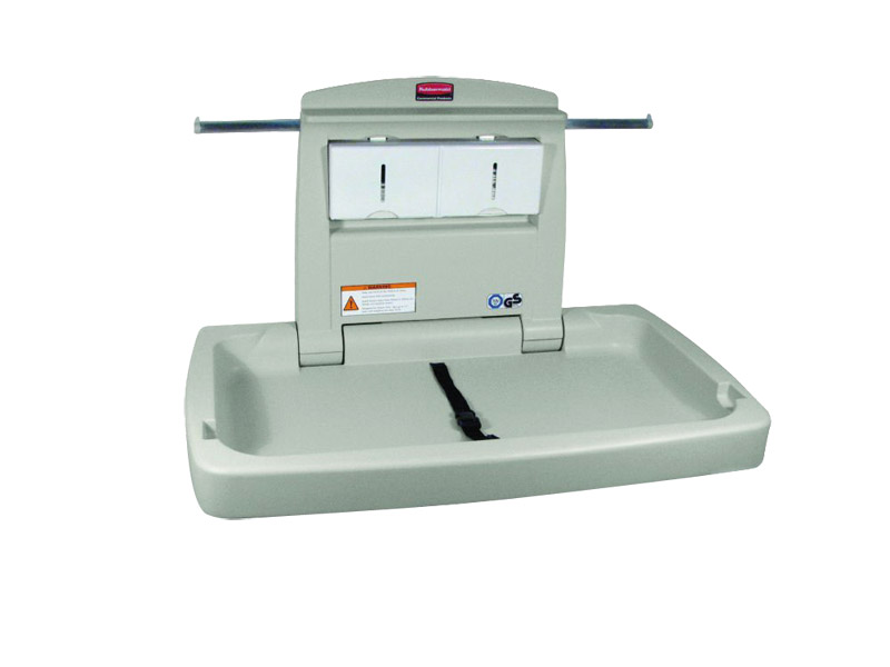 Baby changing unit from Rubbermaid