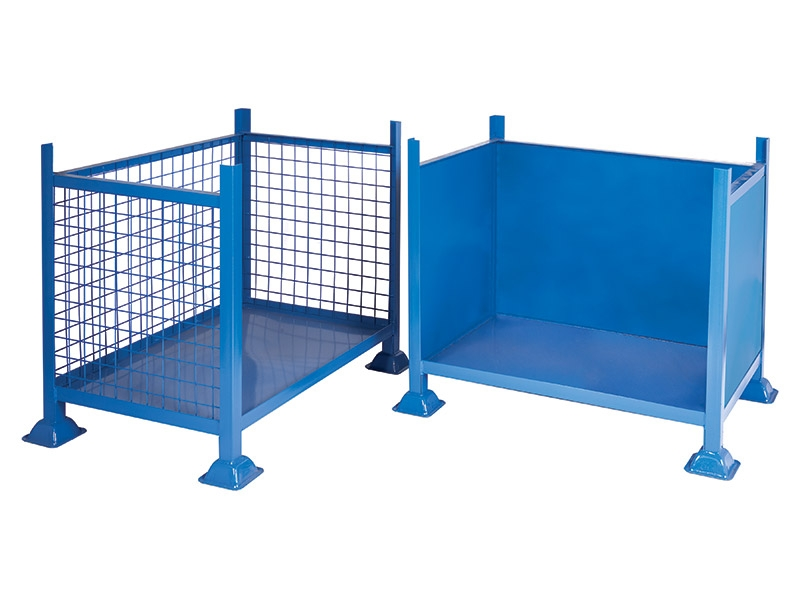 Buy Blue Steel Pallet Cage | Free Delivery