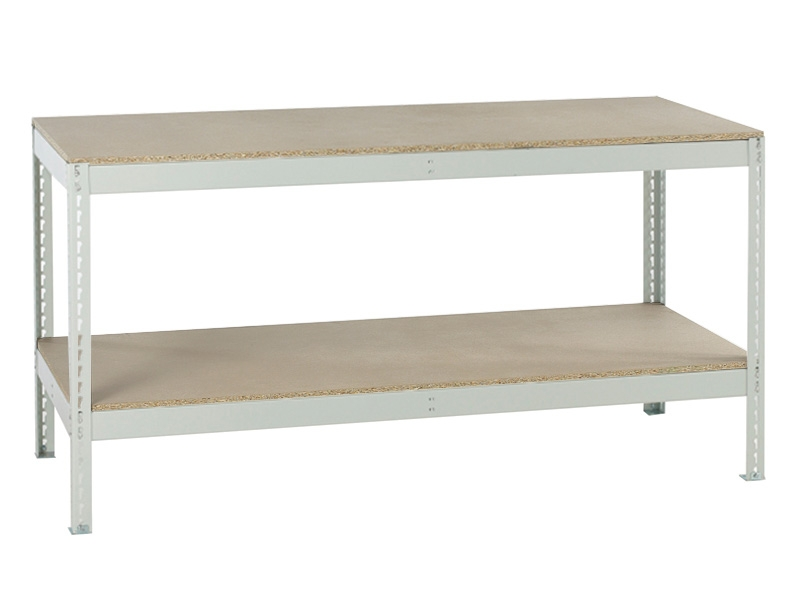 Bolt Free Melamine Workbench