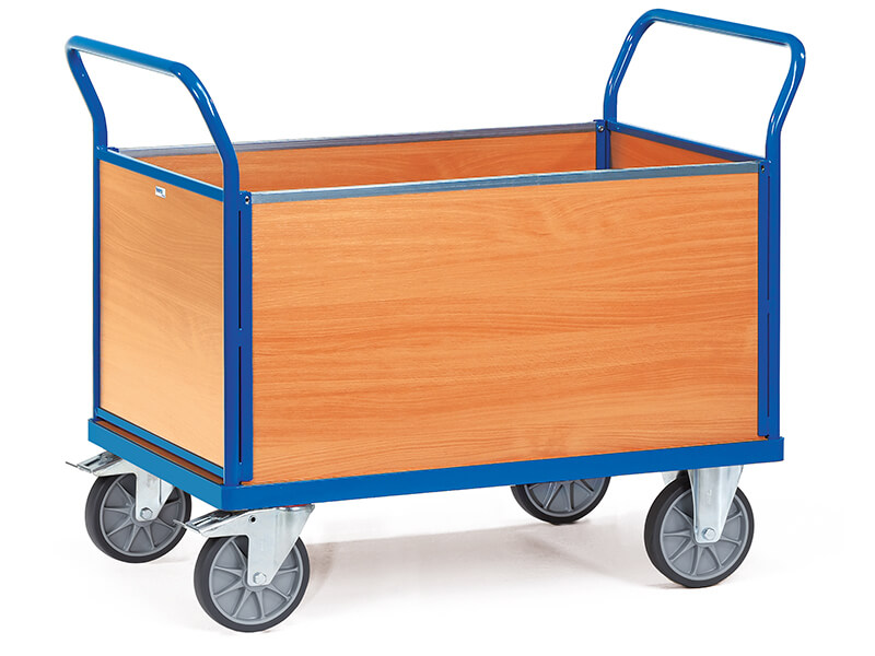 4-Sided Box Modular Platform Cart