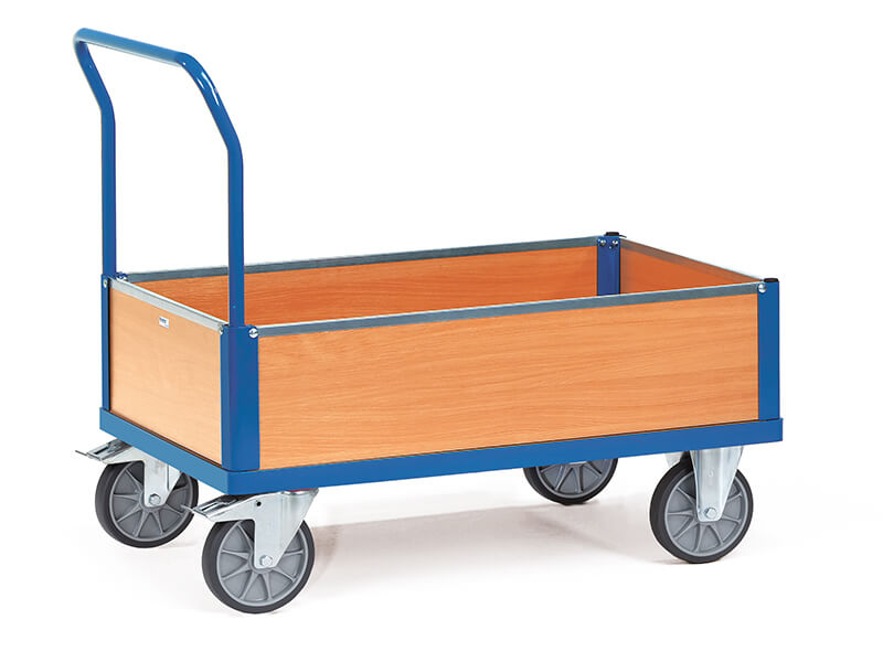 Low Sided Box Cart