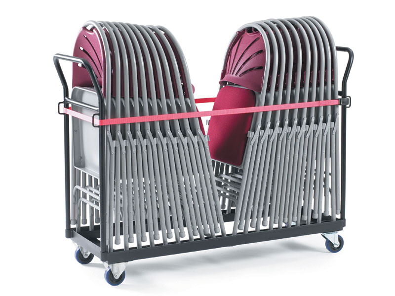 By Fold Chair Storage Trolley