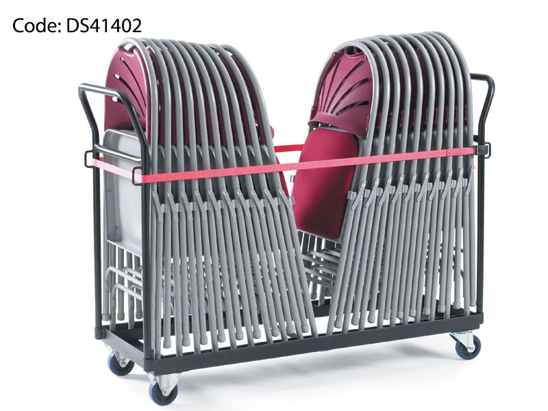 By-Fold Chair Storage Trolley