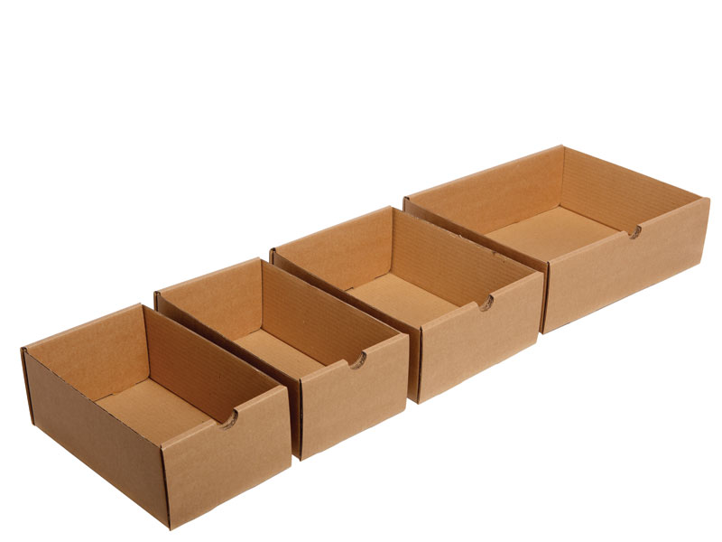 Cardboard Storage Trays
