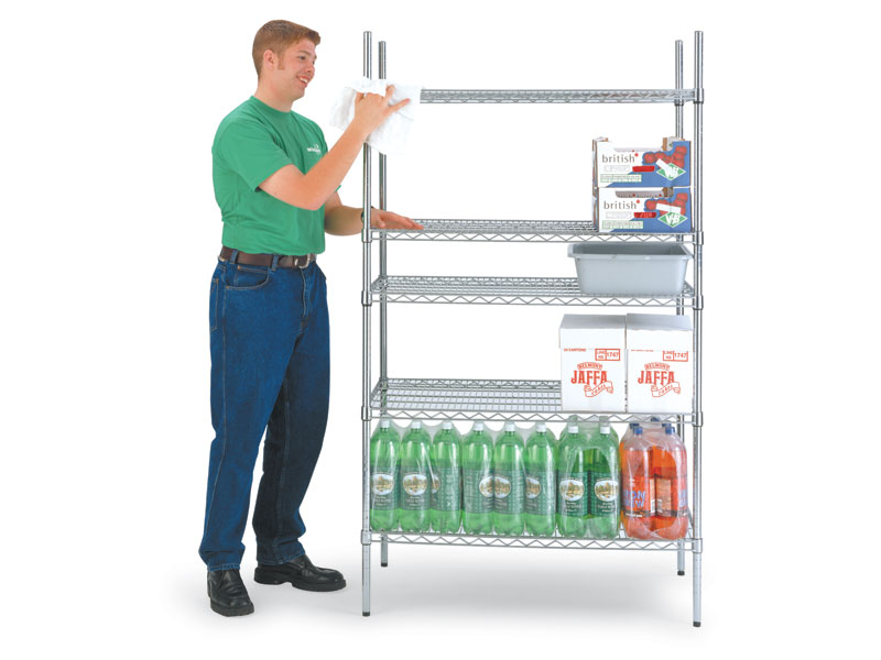 chrome wire kitchen shelving free delivery. Black Bedroom Furniture Sets. Home Design Ideas