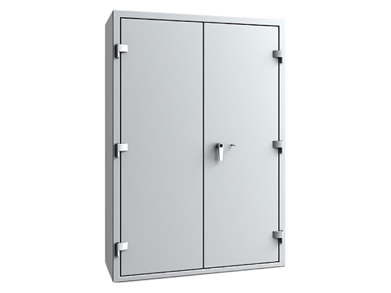 CombiPaper 2-Door Fire Resistant Security Cupboard