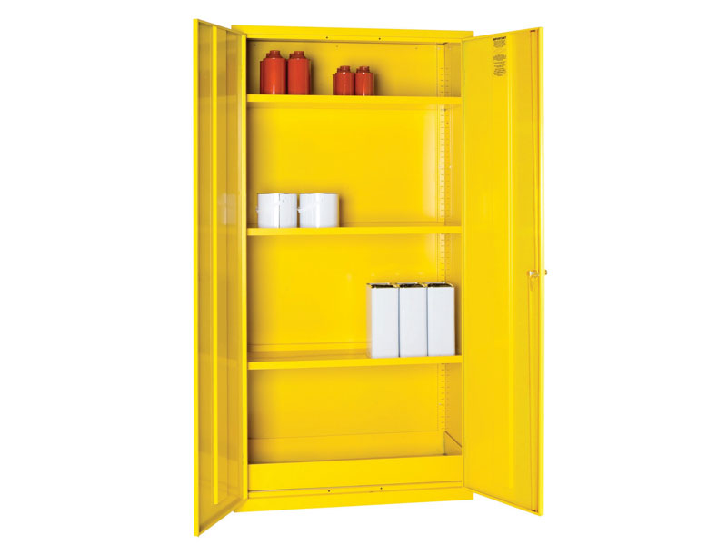 Budget COSHH Cabinet with GHS labelling