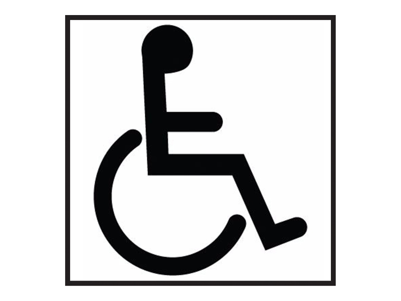 Disabled Washroom Sign