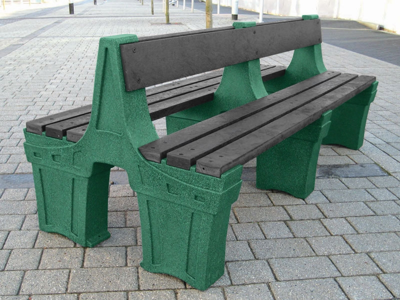 Double Sided Park Seat