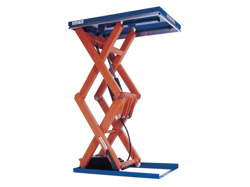 Double Vertical Scissor Lift