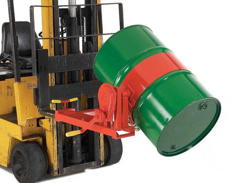 Fork Lift Drum Rotator