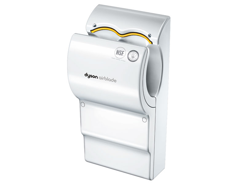 Buy Poly Carbonate Dyson Airblade Hand Dryer White Free