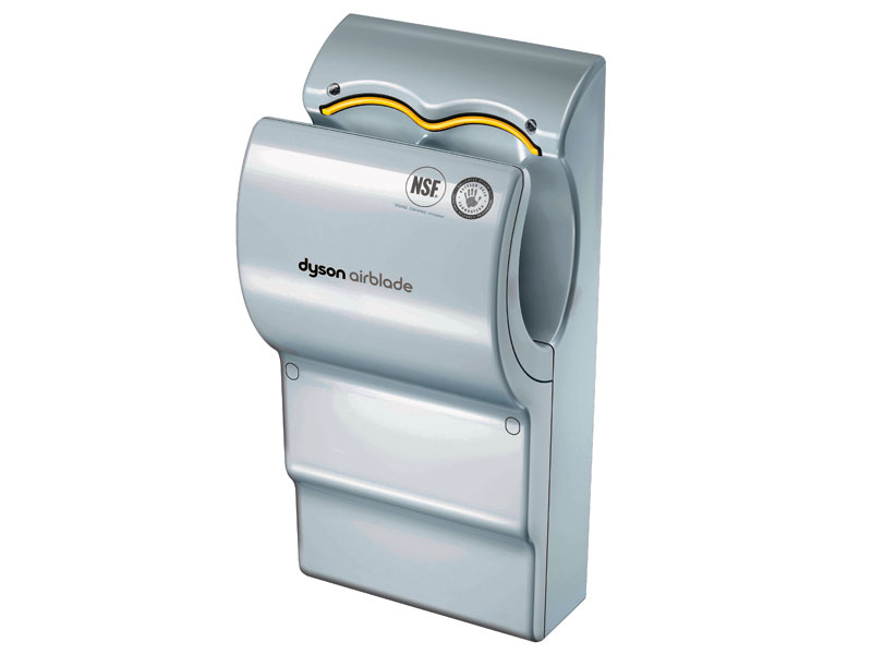 buy poly carbonate dyson airblade hand dryer grey free delivery. Black Bedroom Furniture Sets. Home Design Ideas