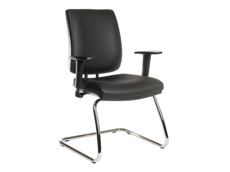 Ergo Visitor Deluxe Chair Blue