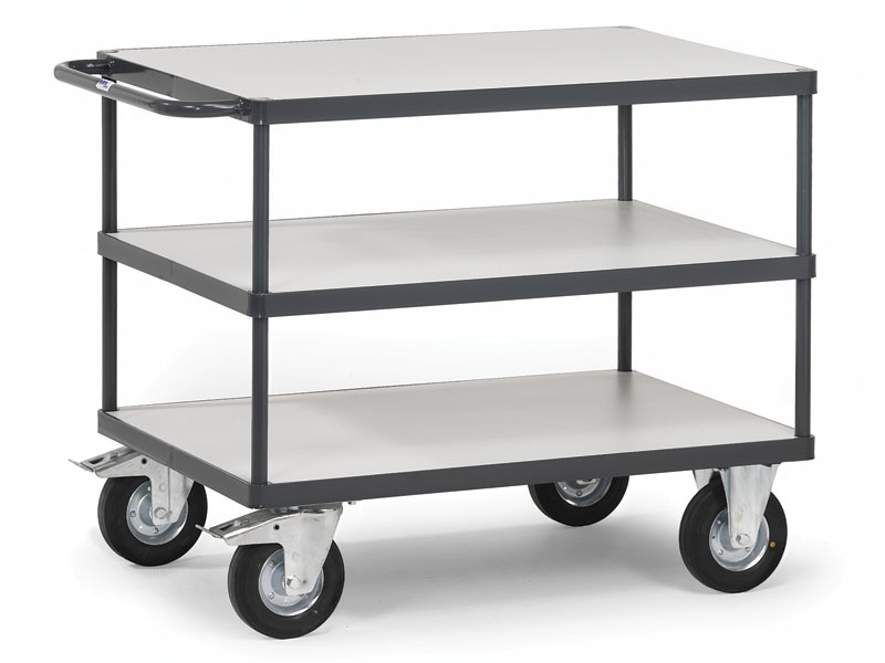 ESD 3 Shelf Trolley