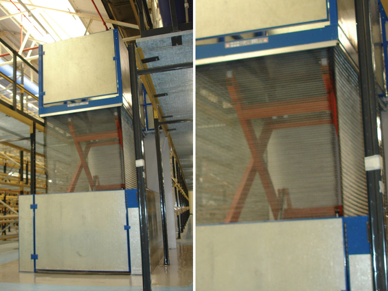 Floor to Floor Goods Lift