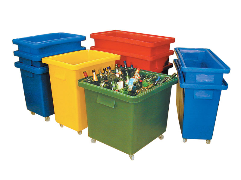 Looking for Plastic Containers on Wheels?