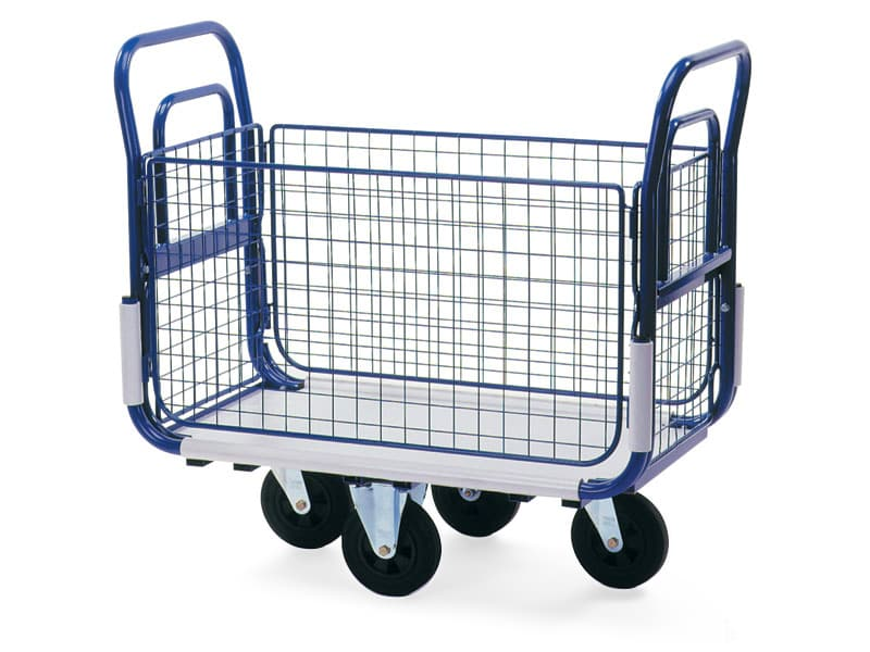 Outdoor postal trolleys