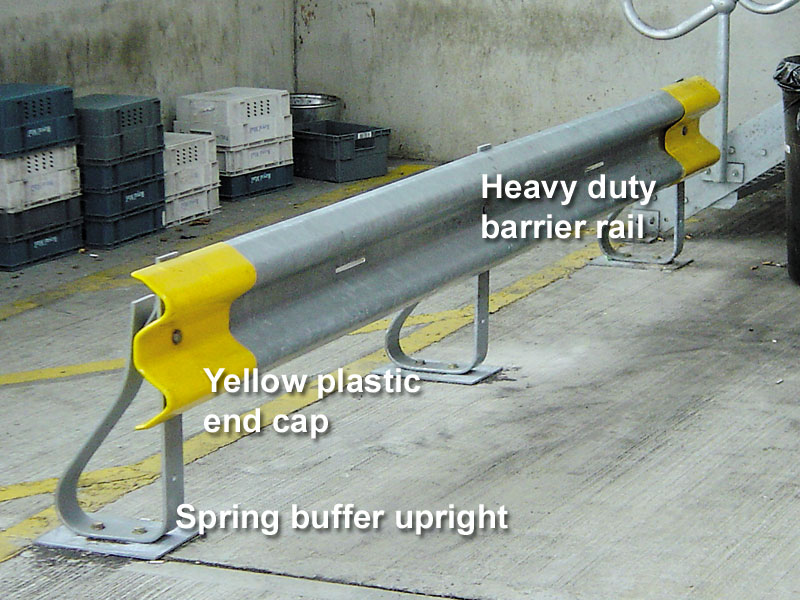 Heavy Duty Spring Steel Barrier