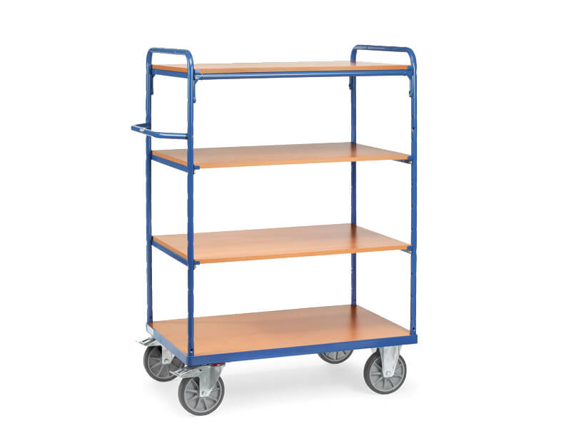 Buy Heavy Duty 4 Shelf Trolley Free Delivery