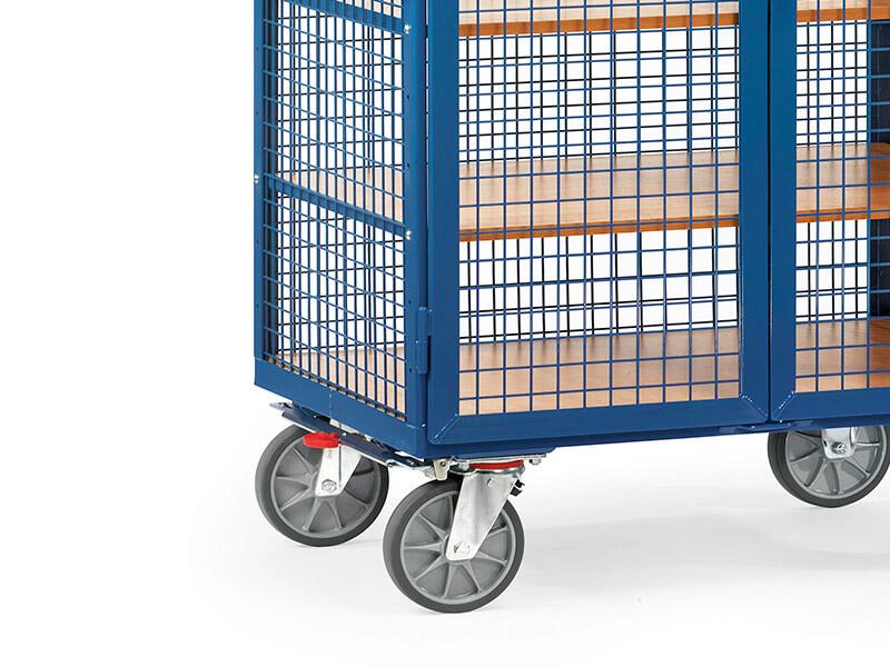 Heavy duty mesh box cart 750kg heavy duty mesh box cart 750kg