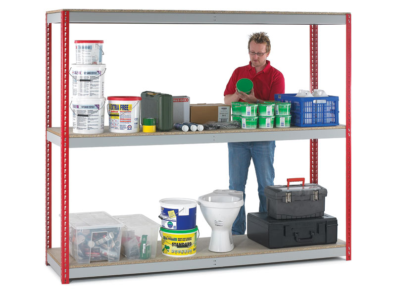 Heavy Duty Workshop Shelving Kit