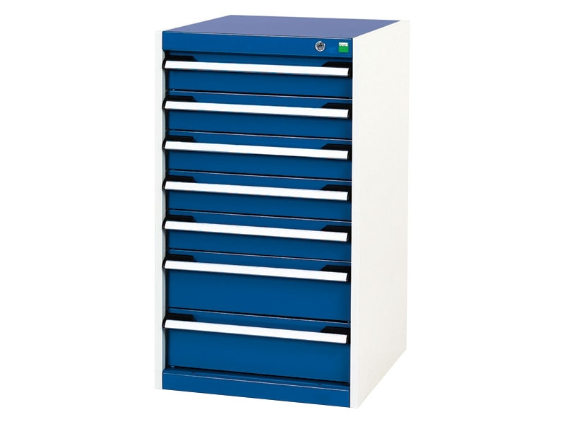 High Capacity 525x525mm 7 Drawer Cabinet