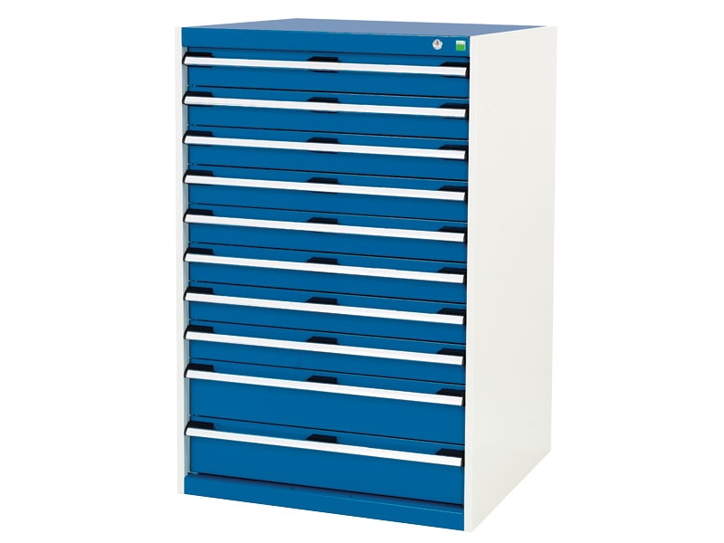 High Capacity 800x750mm 10 Drawer Cabinet