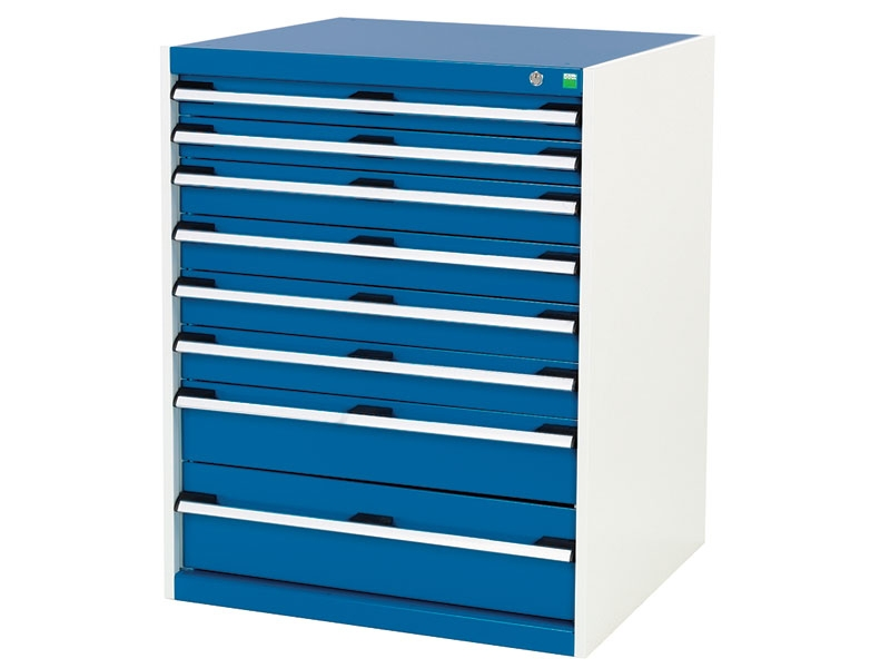 High Capacity 800x750mm 8 Drawer Cabinet