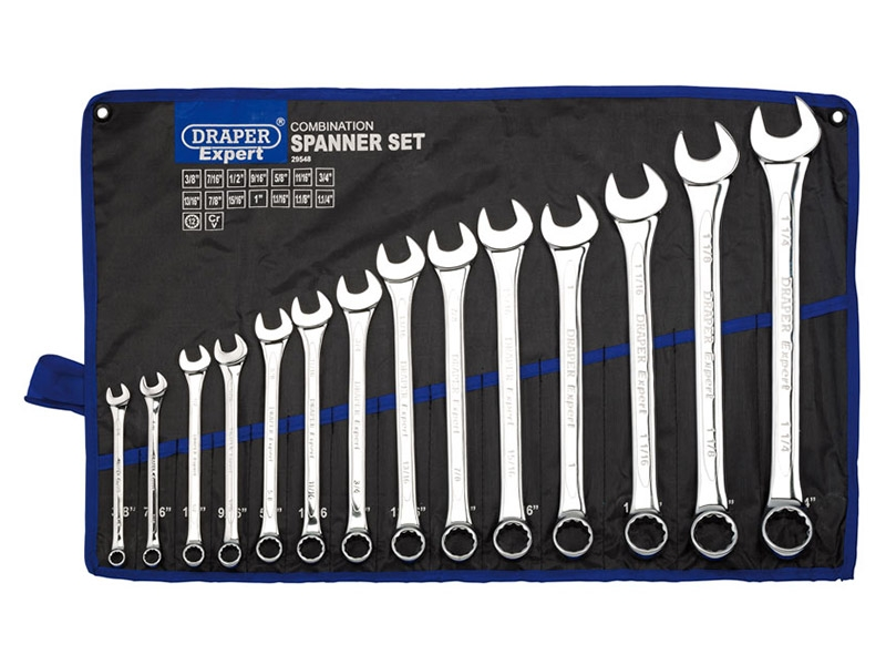 Imperial 14 Piece Combination Spanner Set