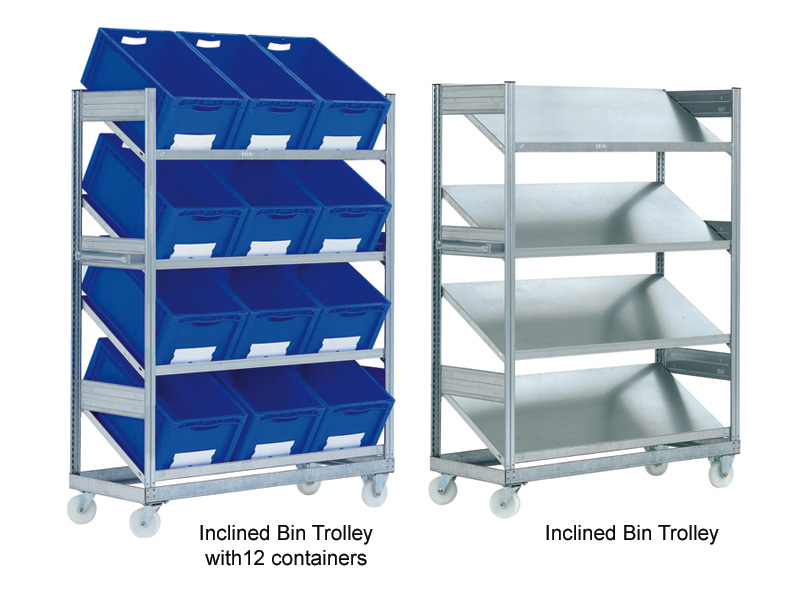 Compartment shelving