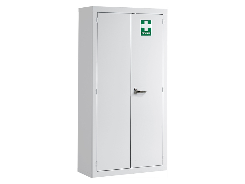 Industrial First Aid Floor Cabinet (1830x915x457mm)