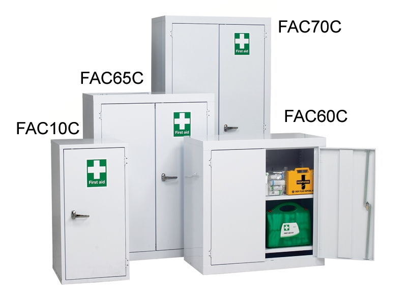 buy industrial first aid floor cabinets | free delivery
