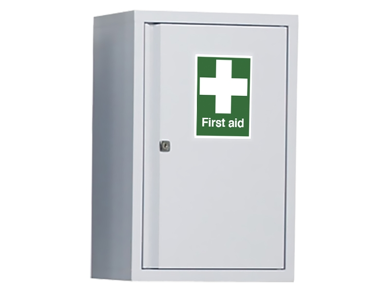 Industrial First Aid Wall Cabinet (600x400mm)