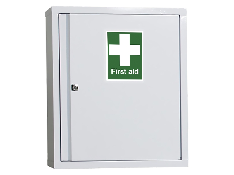 Industrial First Aid Wall Cabinet (600x500mm)
