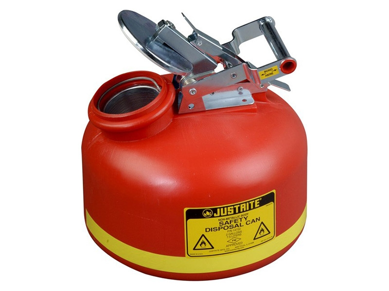 Liquid Disposal Can 7.5L Red