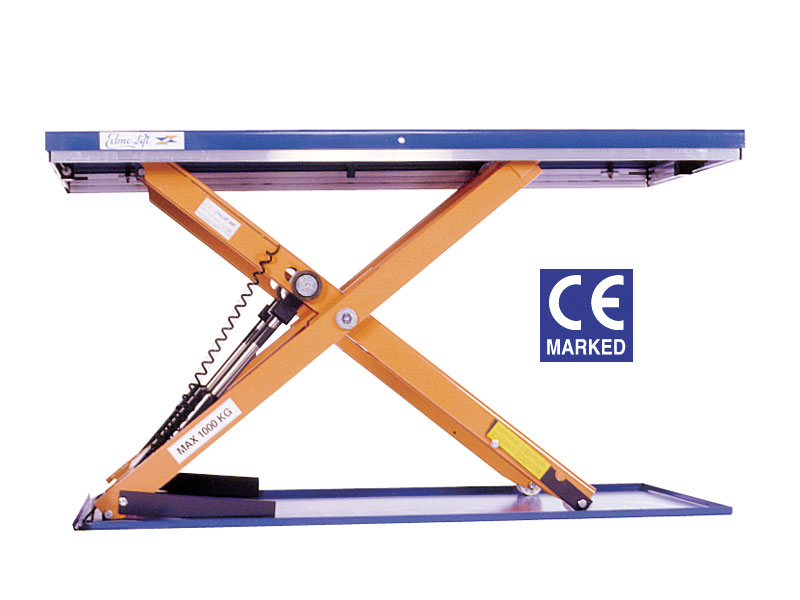 Buy Low Profile Scissor Lift Table Free Delivery